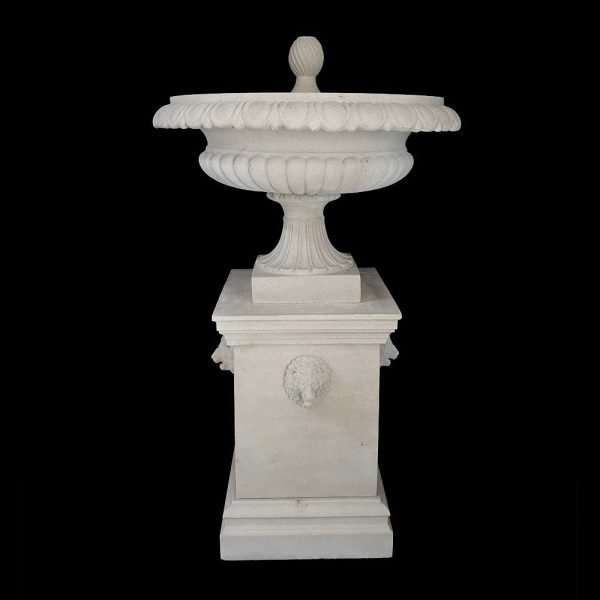 Large-Preston-Fountain-with-lion-masks