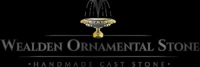 Wealden Ornamental Stone_Logo_On White_Gradient With Shadow